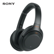 SONY WH-1000XM3 Wireless Noise Canceling Over-the-Ear Headphones, Black