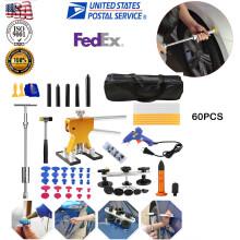 New US Paintless Dent DIY Repair Tools Kits Metal Dent Lifter Puller Car Body