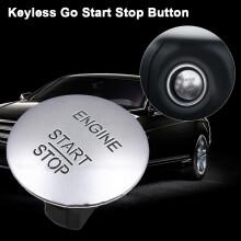 Car Push to Start Button Keyless Go Engine Start Stop Push Button for Mercedes-Benz CL550 ML350