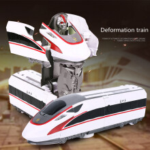 Early childhood educational toys Transformation Robot Train Model Classic Toy Action Figure Gift Chi