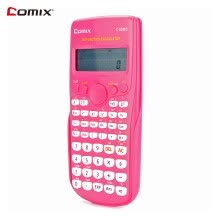 calculators-Comix Scientific Calculator Counter 240 Functions 2 Line LCD Display Business Office Middle High School Student SAT/AP Test Calcul on JD