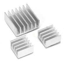 computer-cooling-systems-3pcs Aluminum Heatsink Radiator Cooler Cooling Kit for Raspberry Pi Providing Additional Cooling to the IC on JD