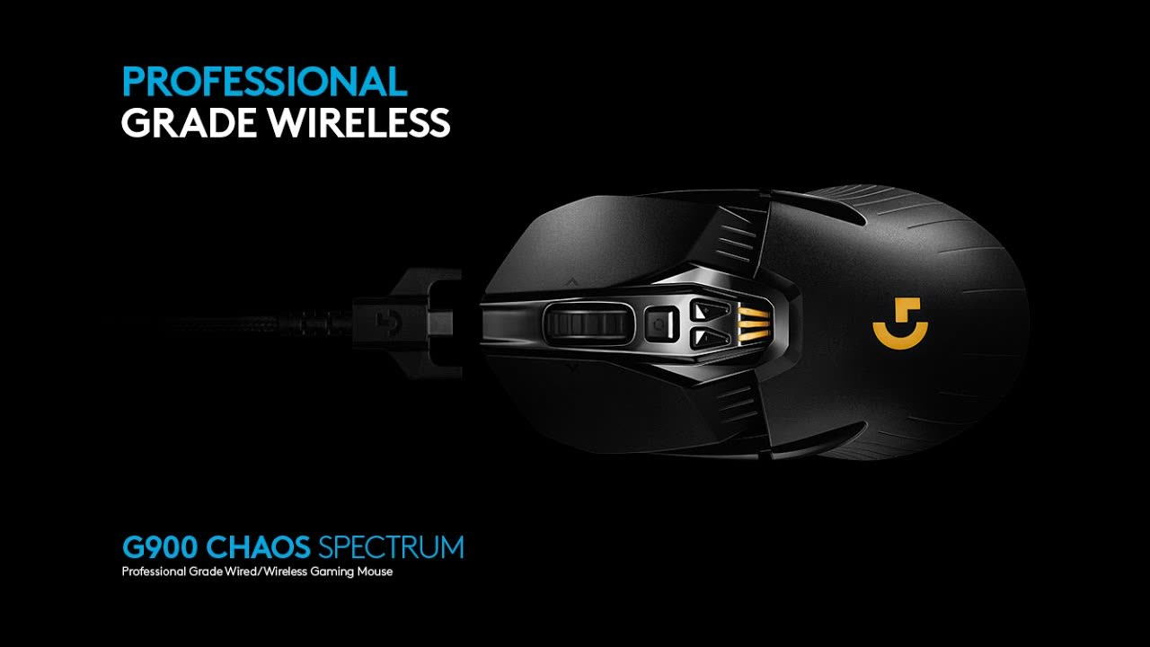 Gengnuo Logitech G900 Chaos Spectrum Pro Gaming Mouse
