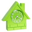 Pearl Star (PEARL) Alarm Clock Creative Student Clock Children's Bedroom Bedside Tables Fashion Small House Living Room Silent Watch Toys Alarm FP1100 Green