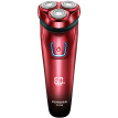 FLYCO FS338 Washable Electric Shaver, Red