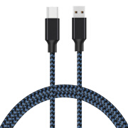 GiGiboom  Type C Cable USB Type-C Cable Fast Charge & Data Transfer Heavy Duty with High Strength Braided Nylon