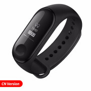 На складе Xiaomi Mi Band 3 Smart Wristband Fitness Bracelet MiBand Band 3 Большой сенсорный экран OLED-сообщение Heart Rate Time Smartband