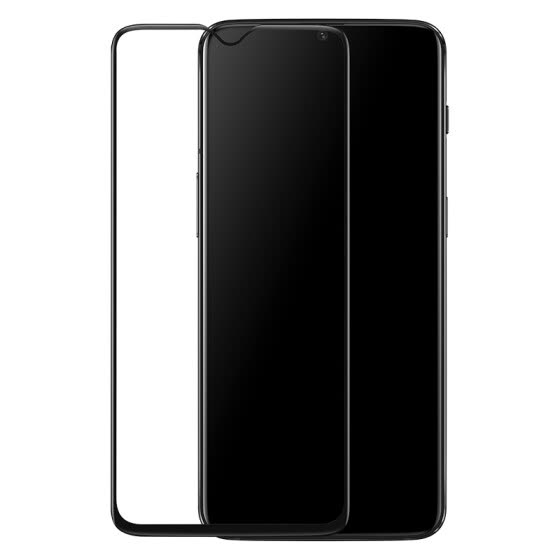 Original OnePlus 6T 3D tempered glass protective film (black color)