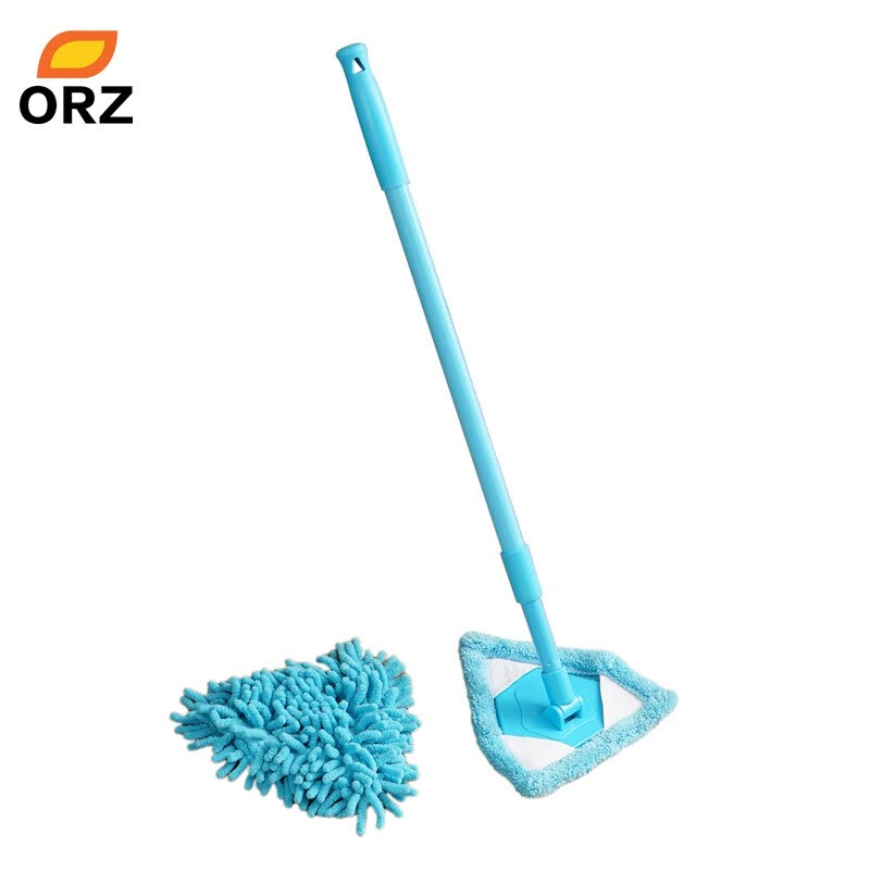 Shop ORZ 2PCS Multifunctional Mop Scalable Dust Floor Cleaning Mop ...