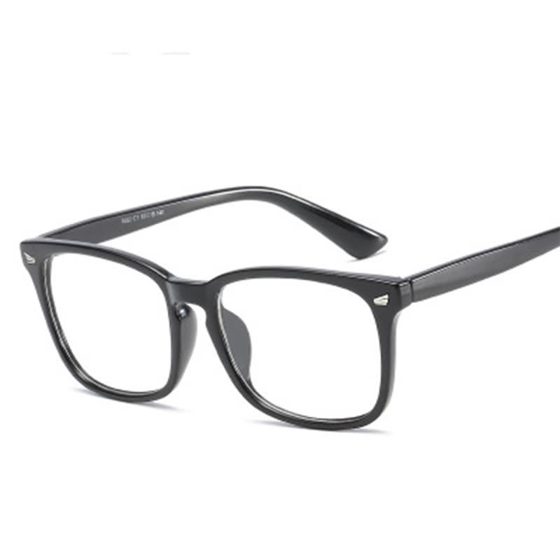 Shop Eye Glasses Frames For Women Men Transparent Big Square ...