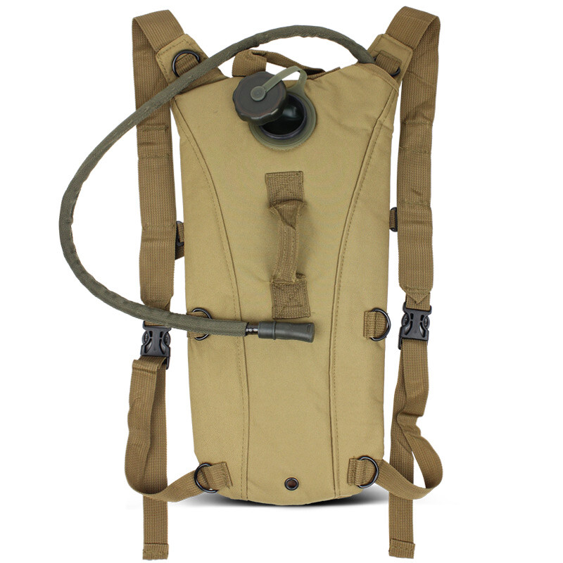 Paulone outdoor sports water bag backpack shoulder bag riding water bag water bag liner sand color P11003