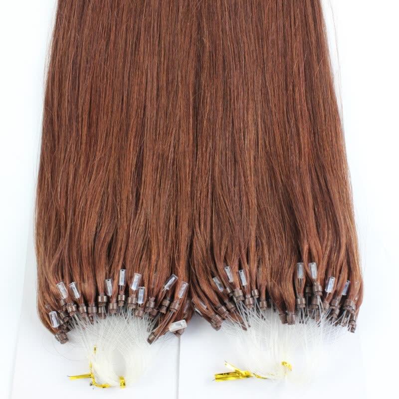 Shop 1g Micro Loop Hair Extensions 100 Brazilian Virgin Hair 33