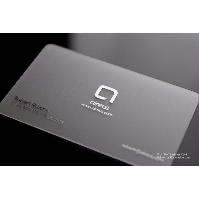Frosted transparent business cards pvc plastic card paper products frosted transparent business cards pvc plastic card colourmoves