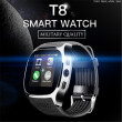 New Design T8 Bluetooth Smart Watch With Camera Music Player Facebook Whatsapp Sync SMS Smartwatch For Women Men