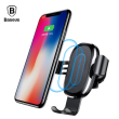 Multi-function Baseus 10W Combination Qi Wireless Charger and Mobile Phone Holder suitable with Type-c/ Android/ Iphone Receiver for Iphone/Samsung/Huawei/MI