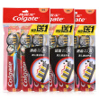 Colgate Charcoal Fiber/ Soft-Bristled Toothbrush 3/4/9 PCs