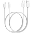 BIAZE Micro USB Data and Charging Cable 1m, White