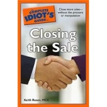 -The Complete Idiots Guide to Closing the Sale on JD