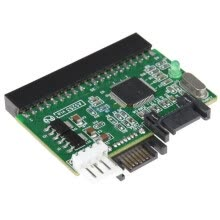 -AGESTAR ISSI SATA to IDE adapter card (for IDE motherboard with SATA device or IDE hard drive for SATA motherboard) on JD
