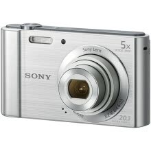 compact-digital-cameras-Sony (SONY) DSC-W800 digital camera silver (2010 million pixels 5x optical zoom 2.7 inches 26mm wide angle) on JD