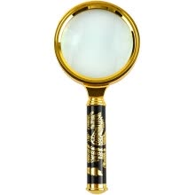 -Gagarin portable portable old man reading pocket magnifying glass 60MM office reading 10 times JH03 on JD