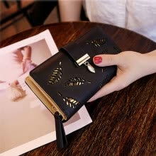 -Women Clutch Leather Wallet Long Card Holder Phone Bag Case Purse lady Handbags on JD