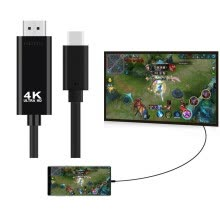 -Type-C to HDMI 4K Cable HDTV TV Digital AV Adapter for Samsung Galaxy S9+ S8+ on JD