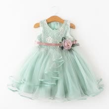 -Summer Tutu Dress For Girls Dresses Kids Clothes Wedding Events Flower Girl Dress Birthday Party Costumes Children Clothing 1-6T on JD