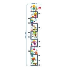-DIY PVC Cartoon Height Measurement Wall Stickers for Children Height Growth Chart Height Record Nursery Bedroom Removable Decal on JD