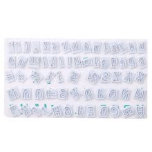 -64 Characters Alphabet Letters Baking Cake Mold  Fondant Mold 3D Cupcake Chocolate Candy Pastry Mold Wedding Cake Decorating To on JD