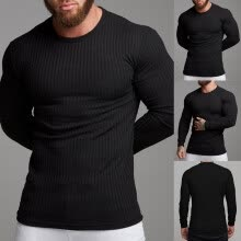 -Man's Autumn Winter Casual V-Neck Men's Slim Sweaters Tops Blouse on JD