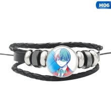 -Anime My Hero Academia Multilayer Leather Braided Bracelets & Bangles Men Women Punk Charm Wristband Jewelry Gifts on JD