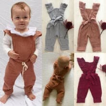 -UK Newborn Baby Girl Boy Kids Winter Clothes Set Knitted Romper Jumpsuit Outfit on JD