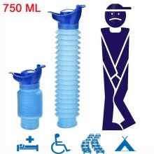-(JPGIF) 750ML Portable Adult Urinal Camping Travel Car Urination Pee Toilet Urine Help on JD