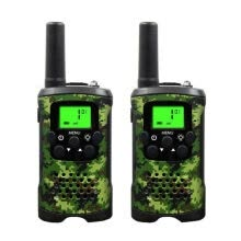 -W_2Pcs Two Way Radio Kids Walkie Talkie for Motorola Mini children's outdoor self driving walkie talkie Gadget up to 6km on JD
