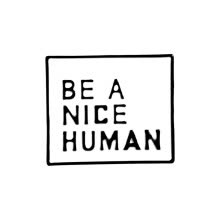 -Be A Nice Human Enamel Pins Metal Badges For Clothes Bag Decoration Lapel Pins Jewelry Gifts on JD