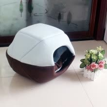 pet-houses-cages-fences-doors-Pet nest, Mongolia bag, dog house, cat house  Dual purpose summer mat, dog house, folding indoo on JD