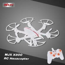 -MJX X800 2.4G 6 Axis Gyro One Key 3D Roll Gravity Sensor RC Hexacopter on JD