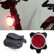 -USB Rechargeable Cycling Bicycle Bike 3 LED Head Front Rear Tail Clip Light Lamp on JD