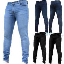 -New Style Mens Skinny Super Stretch Fit Ripped Denim Jeans All Waist on JD