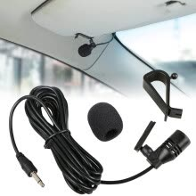 -Car External Microphone Mic 3.5mm For Car DVD Player GPS Navigation Humanity on JD