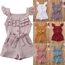 -Newborn Toddler Baby Boy Girls Romper Bodysuit Sunsuit Outfit Clothes Playsuit on JD