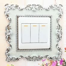 -Home Switch Cover Square Shape Switch Wall Light Socket Stickers Room Decoration on JD