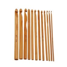 knitting-crochet-12/24roots Knitting Tool Sweater Needle (Bamboo Crochet) Home Garden Arts Crafts Sewing DIY Knitting on JD