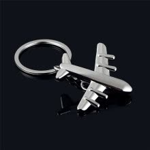 -Classic 3D Simulation Model airplane plane Keychain Key Chain Ring Keyring on JD