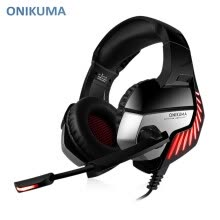 -ONIKUMA K5 Pro Stereo Gaming Headset Over-ear Headphones with MIC LED Light for Xbox One / PS4 / PC on JD