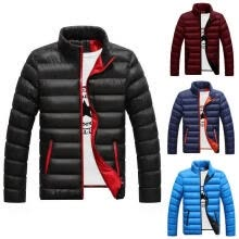 -Men's Winter Warm Padded Down Jacket Ski Jacket Snow Coat Climbing on JD