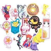 -Ailin Online Cardcaptor Sakura Car Stickers, Anime Bumper Sticker for Phone, Laptop, Car, Lugguage, Skateboard and More on JD