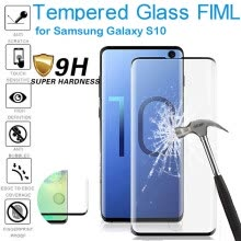 -HD Tempered Glass Screen Fingerprint Recognition For Samsung Galaxy S10 6.1inch on JD