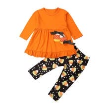 other-oral-products-Toddler Baby Girl T-shirt Tops Dress+Flower Pants Leggings Halloween Costume on JD